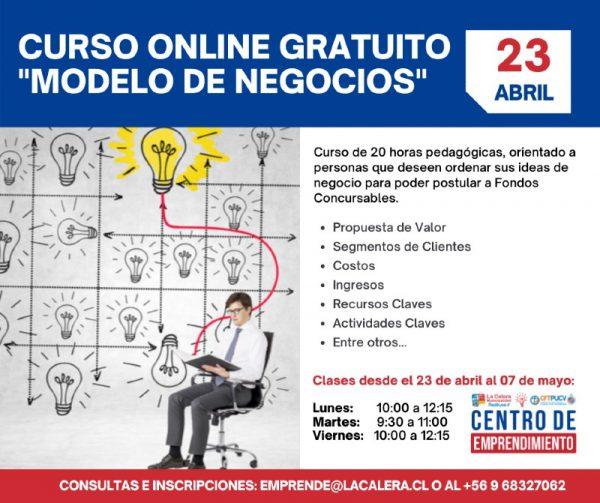 evento curso modelo negocios